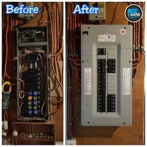 New electrical panel in Bradford by MDC Electric