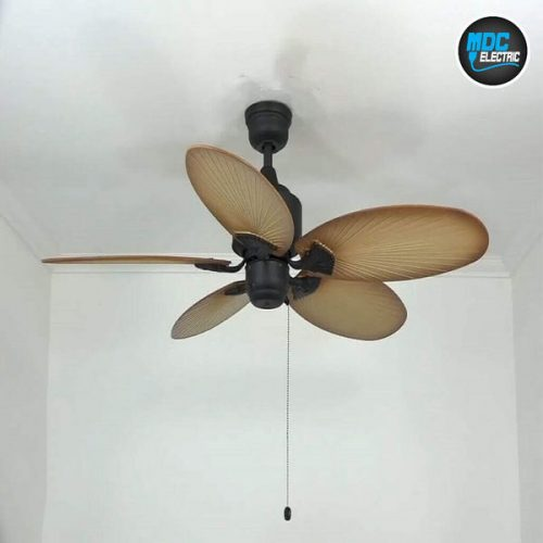 Ceiling fan installation in Newmarket by MDC Electric