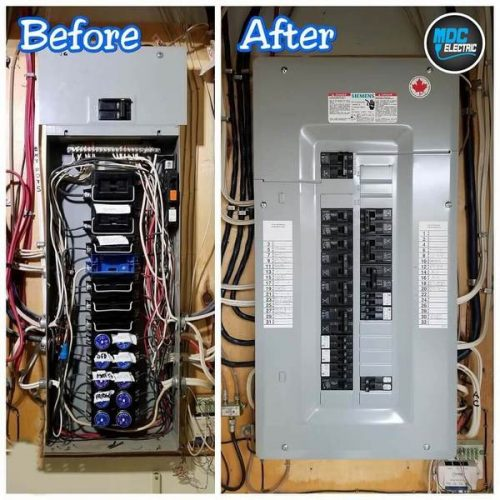 Fuse panel upgrade in Aurora by MDC Electric