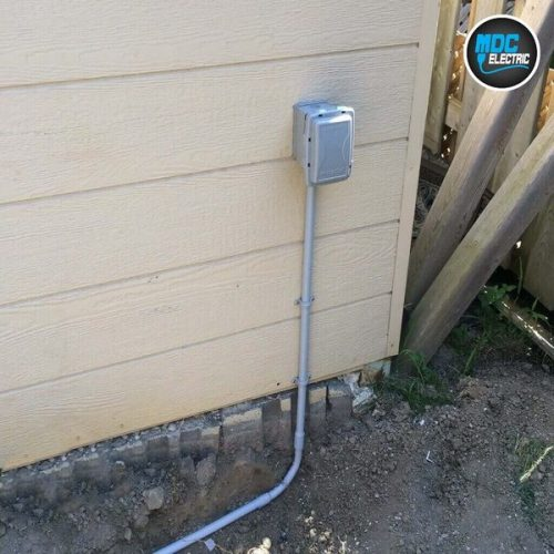 Garden wiring in Richmond Hill by MDC Electric