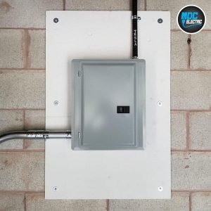 Pony panel installation in Aurora by MDC Electric