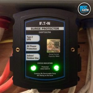 Whole home surge protection in Richmond Hill by MDC Electric