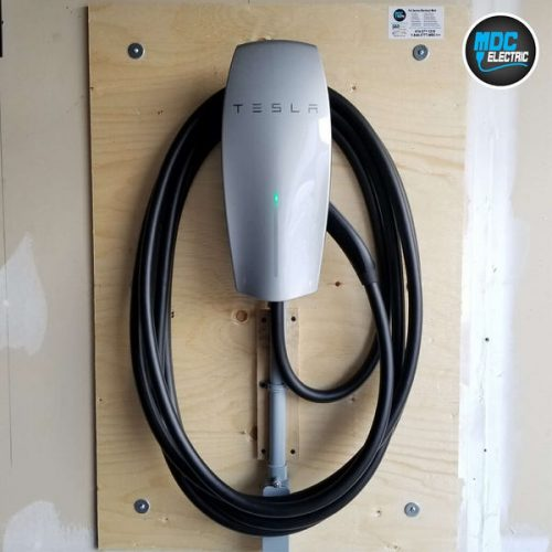 Tesla Car Charger Installation in Innisfil by MDC Electric