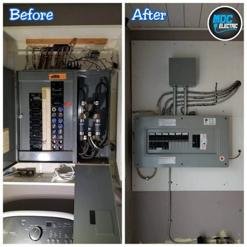 Fuse panel upgrade in Newmarket by MDC Electric
