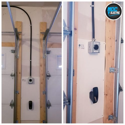 Nema 6-50 plug installation Stouffville MDC Electric