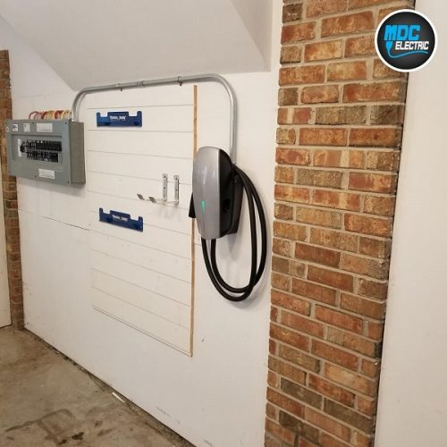 Tesla Wall Connector installer Stouffville by MDC Electric