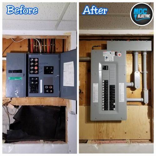 Fuse panel replacement in Sharon Ontario by MDC Electric